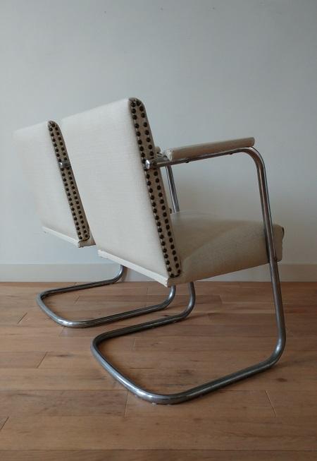 set buisframe stoelen jaren 50 5
