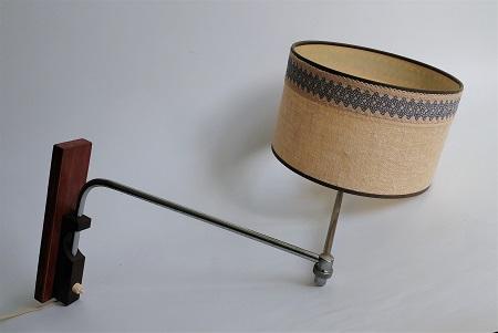 wandlamp jaren 60 met zwenkarm 1