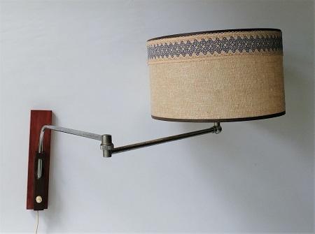 wandlamp jaren 60 met zwenkarm 3