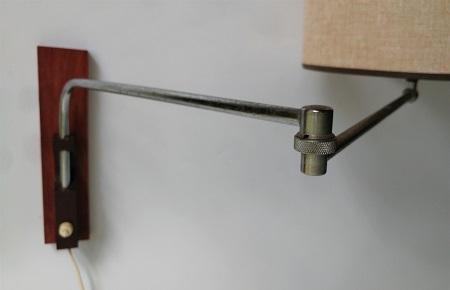 wandlamp jaren 60 met zwenkarm 4