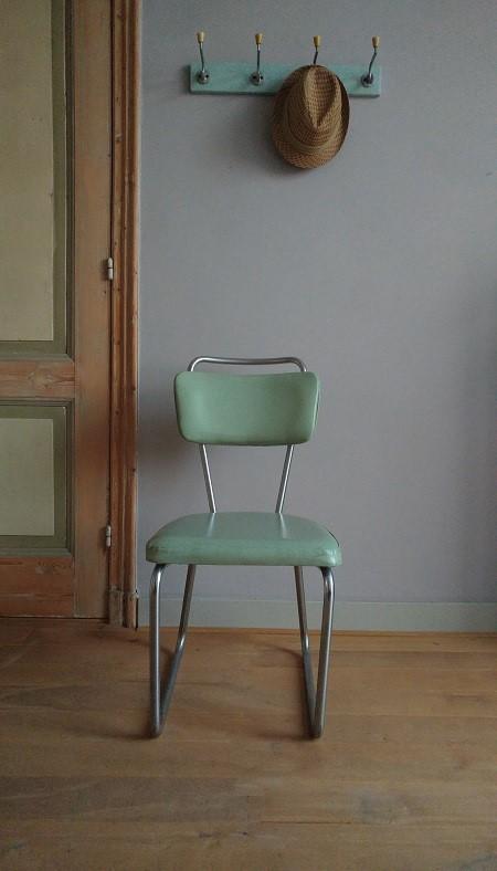 buisframe stoel mintgroen verkleind 1
