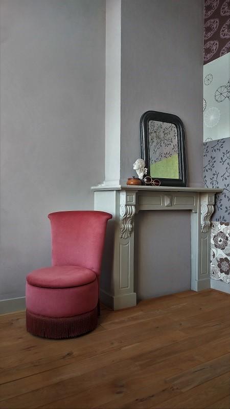 Van oude dingenvelours boudoir fauteuiltje jaren 50 van for Boudoir stoel