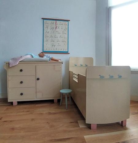 2 Delige Babykamer.Van Oude Dingen2 Delige Babykamer Jaren 50 Van Oude Dingen